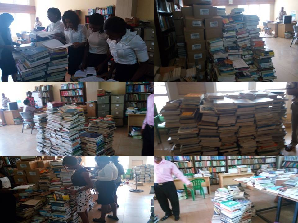 donated books