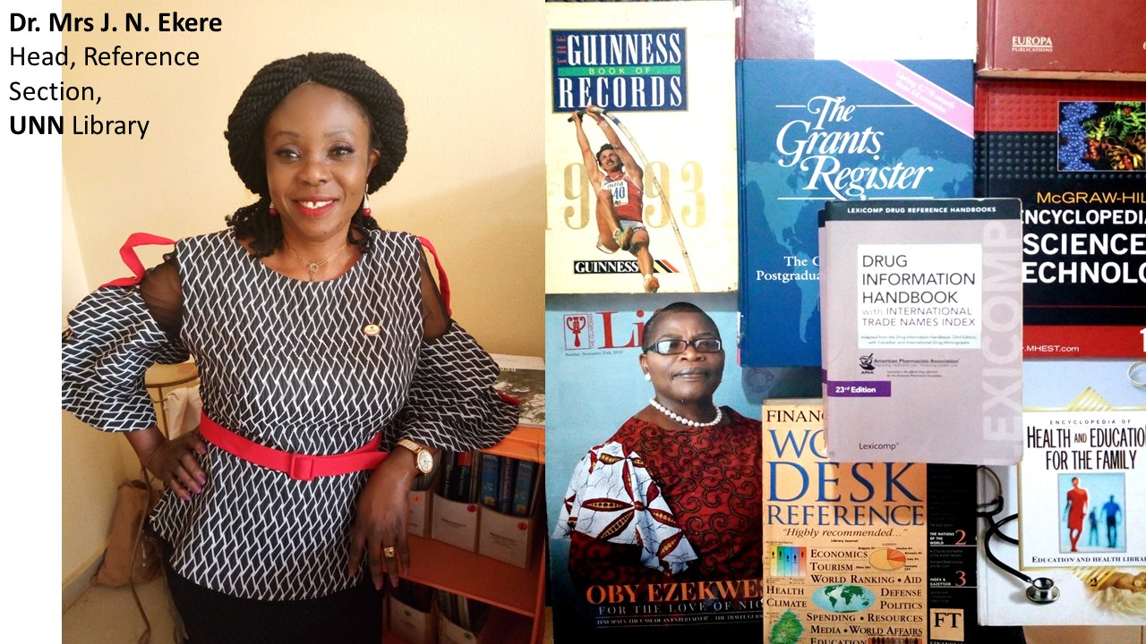 UNN Reference Library Marks World Book Day